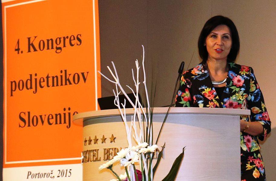 Kongres podjetnikov Tanja Skaza