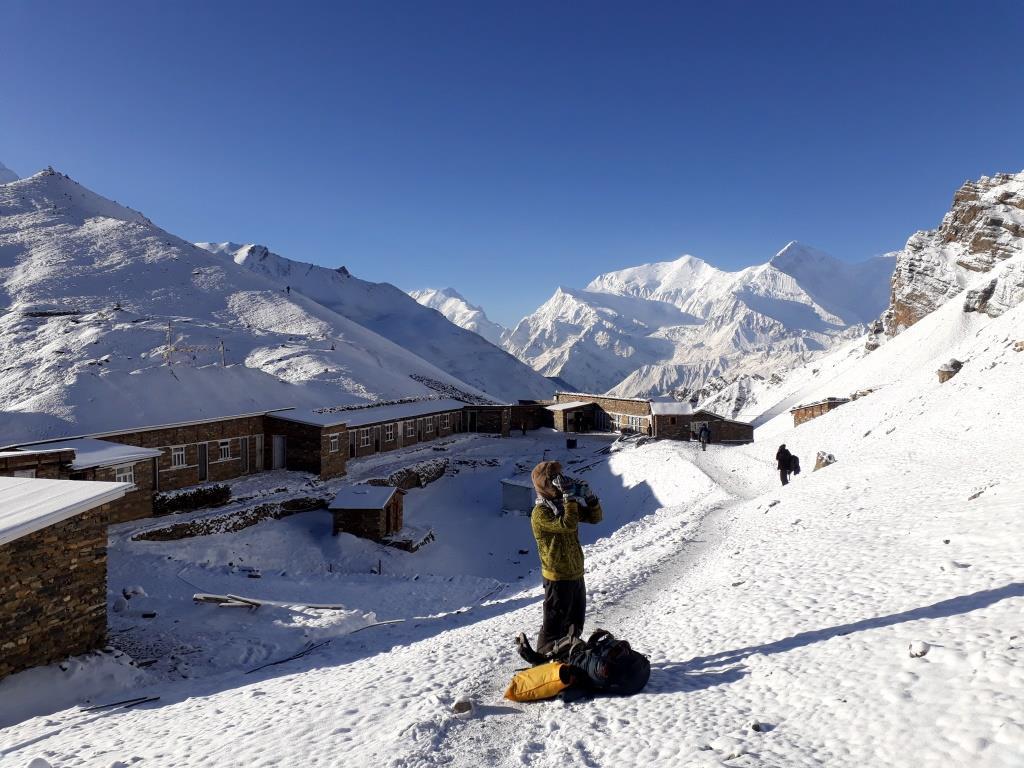 nepal treking anapurna 5