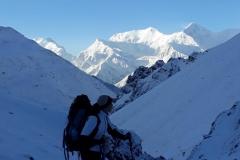 nepal treking petra skarja himalaja