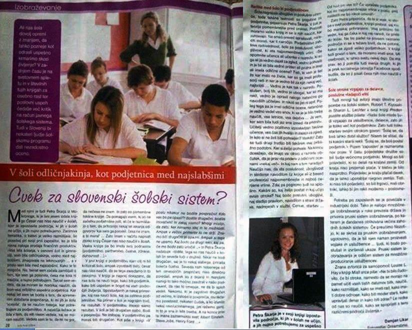 Cvek za slovenski šolski sistem-