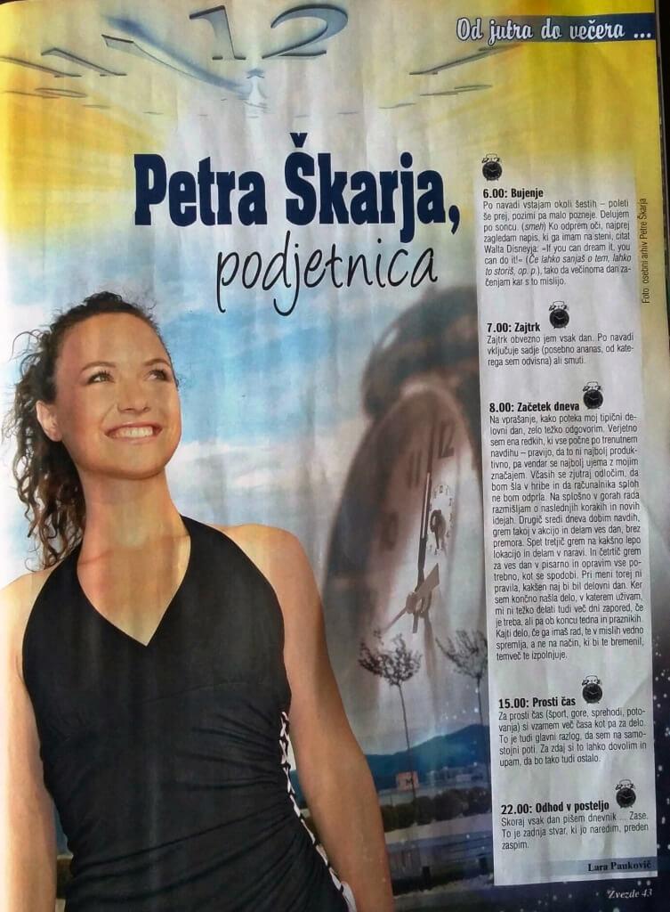 Petra Škarja, podjetnica