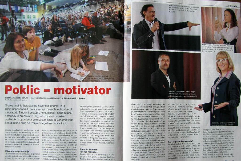 Poklic – motivator 1