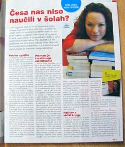 Česa nas niso naučili v šolah – v reviji Anja