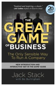 the great game of business jack stack knjiga